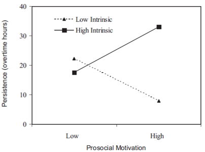 intrinsic motivation persistence
