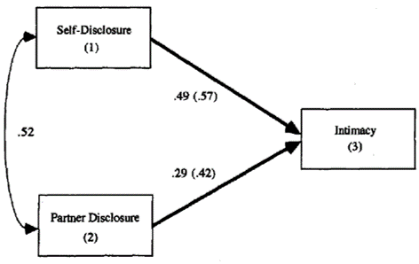 self-disclosure path
