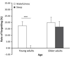 sleep memory age